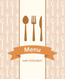 Menu banner Stock Photography