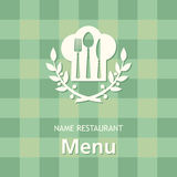 Menu banner Royalty Free Stock Photography