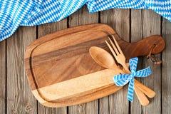 Menu for Bavarian specialties. Oktoberfest beer festival background. Menu for Bavarian specialties Royalty Free Stock Image