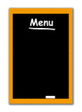 Menu Black Board Royalty Free Stock Images