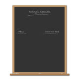 Menu Blackboard Royalty Free Stock Photos