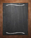 Menu Blackboard Background Royalty Free Stock Photos