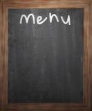 Menu Blackboard Background Royalty Free Stock Images