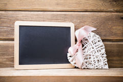 Menu blackboard. Royalty Free Stock Images