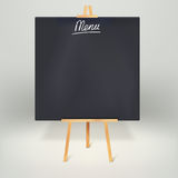 Menu blackboards or chalkboards Royalty Free Stock Photos
