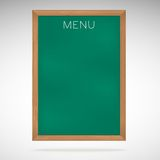 Menu blackboards or chalkboards Royalty Free Stock Images