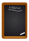 Menu on board Stock Images