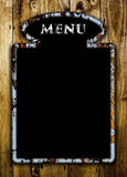 Menu board. Stock Photo