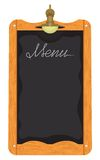 Menu board outside a restaurant or cafe Royalty Free Stock Photo