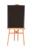 Menu board stand isolated Stock Photography