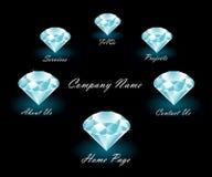 menu bogactwo projektująca sieć Zdjęcia Royalty Free