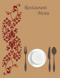Menu Card 1 Royalty Free Stock Photography