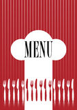 Menu Card Royalty Free Stock Image