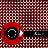 Menu card Stock Image