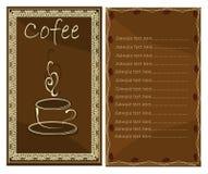 Menu card Royalty Free Stock Images