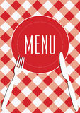 Menu Card Background Stock Images