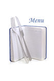 Menu card Royalty Free Stock Images
