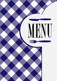 Menu Card Design Royalty Free Stock Photos