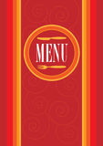 Menu Card Design Royalty Free Stock Image