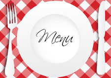Menu Card Design stock illustration