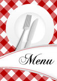 Menu Card Design vector illustration