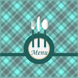 Menu Card Design Stock Images