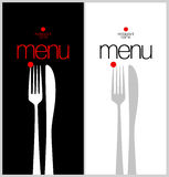 Menu Card Design template. Royalty Free Stock Images
