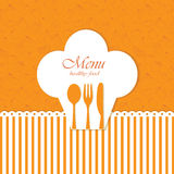 Menu card Royalty Free Stock Photo
