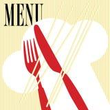 Menu Card - Pasta stock illustration