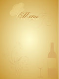 Menu card Stock Photography