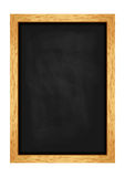 Menu chalkboard for cafes and restaurants. Realistic wooden frame. Vector Stock Photo