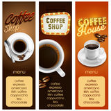 Menu coffee Royalty Free Stock Image