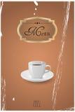 Menu coffee Royalty Free Stock Images