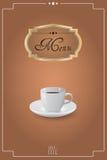 Menu coffee Stock Photos