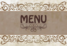 Menu cover Royalty Free Stock Images