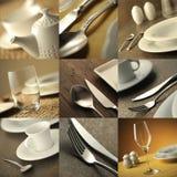 Menu cover restaurant Stock Images