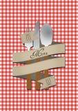 Menu Cutlery Royalty Free Stock Image