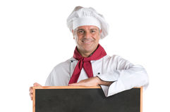 Menu of the day at restaurant Stock Photography