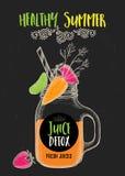 Menu de café de restaurant, conception de calibre Photographie stock libre de droits