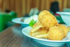 Menu de nourriture vietnamienne image libre de droits