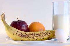 Menu de petit déjeuner Image stock