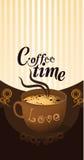 Menu del caffè Illustrazione di Stock