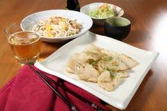 Menu del pesce Immagine Stock