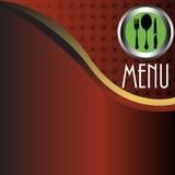 Menu del ristorante Immagine Stock