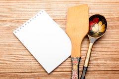 Menu dell'istituzione menu della cucina Cottura della ricetta immagine stock libera da diritti