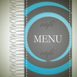 Menu design Royalty Free Stock Photos