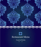 Menu design Royalty Free Stock Photography
