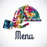 Menu design Stock Photo