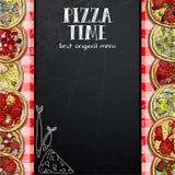 Menu design in the pizzeria Stock Photos