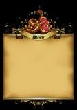 Menu design Royalty Free Stock Images